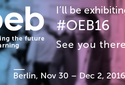 Come at OEB to shape the future of learning