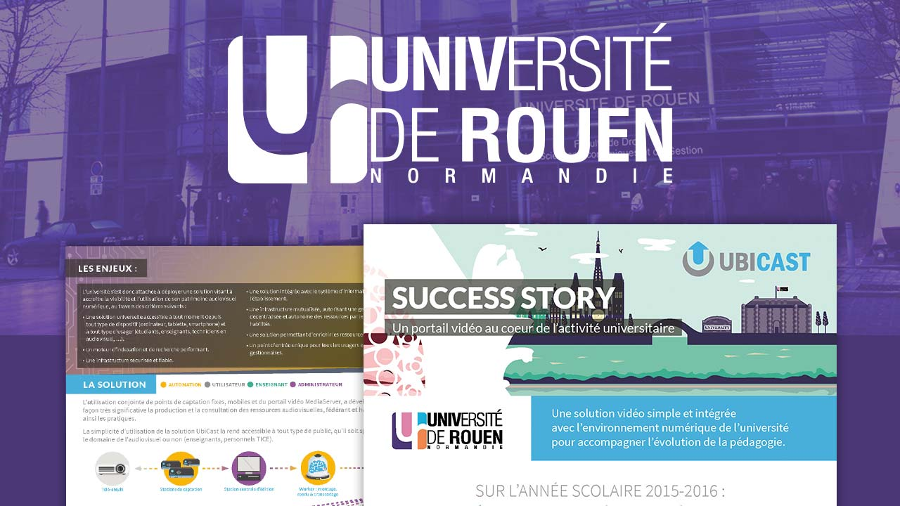 success story Université de Rouen