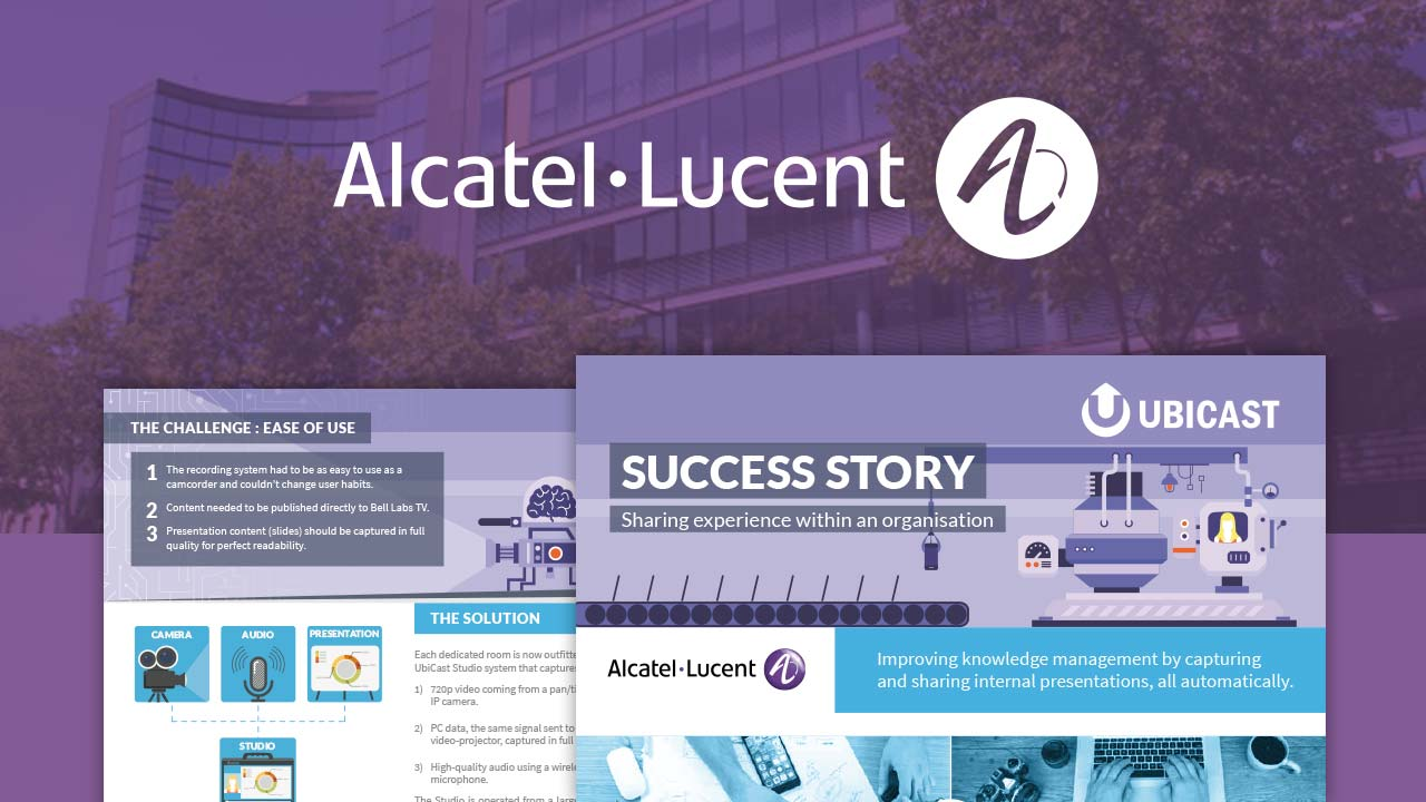 success story Alactel lucent