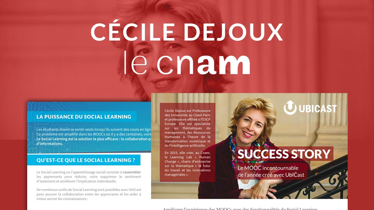 success story Cécile Dejoux