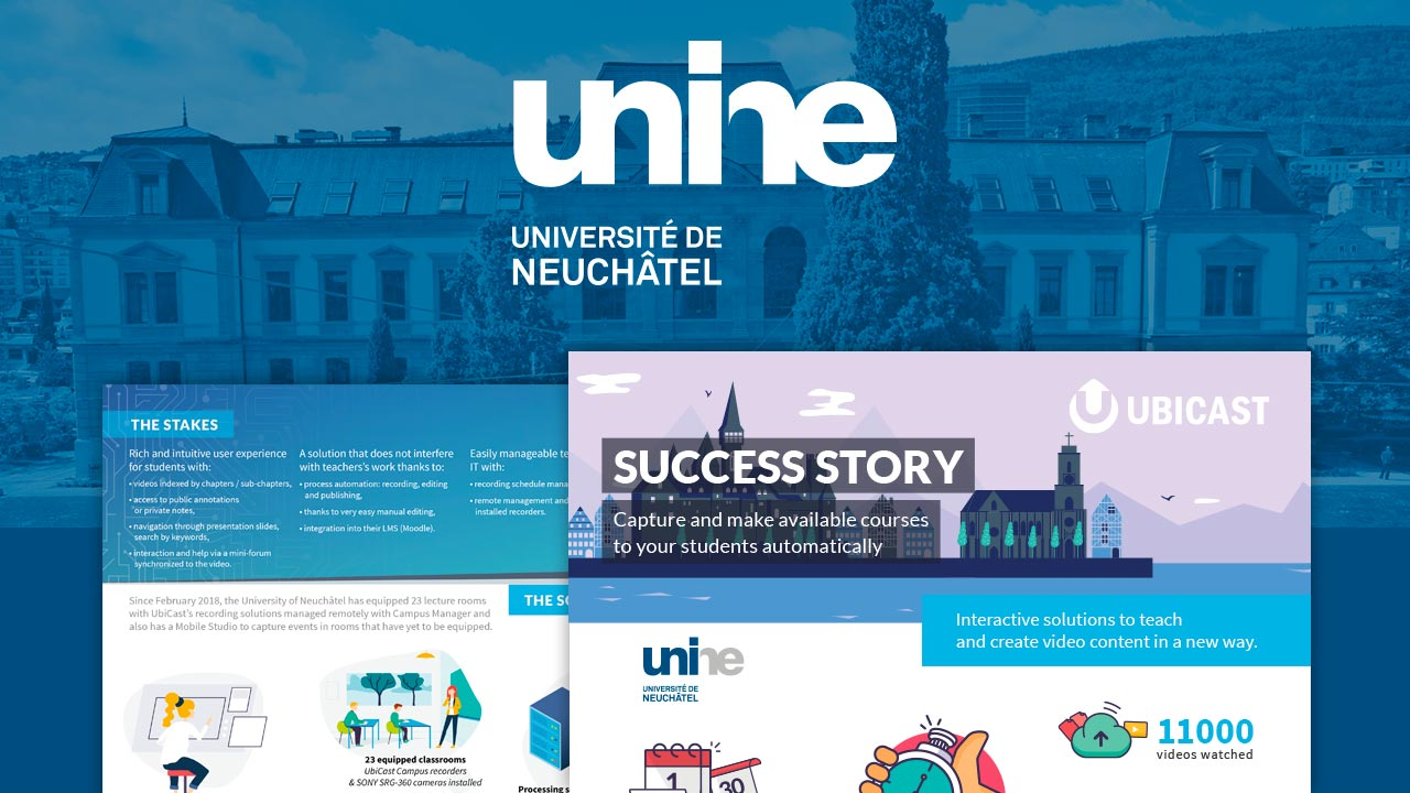 success story Université de Neuchâtel